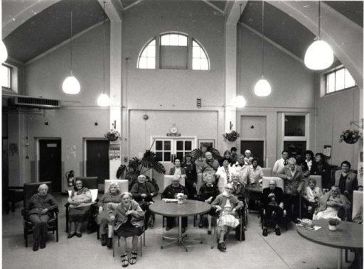 In 1989, elderly patients filled the wards where children had played.